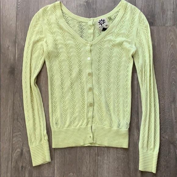 Volcom Tops - Cute bright neon yellow/green Volvom shirt.